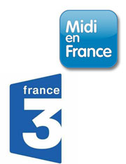 France 3 midi en France Biarritz Juin 2011 shopping nathalie Simon